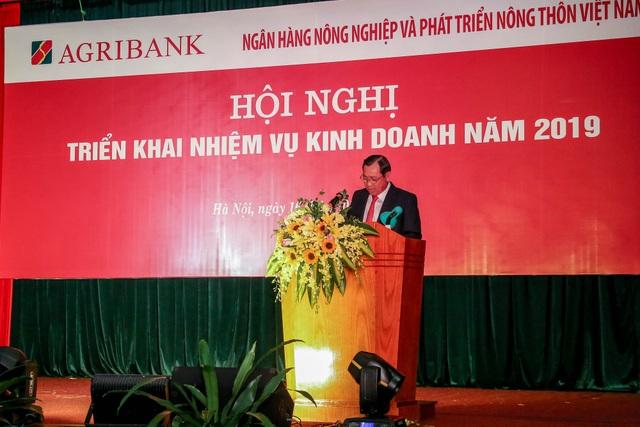 Agribank tổ chức Hội nghị triển khai nhiệm vụ kinh doanh năm 2019 - Ảnh 1.