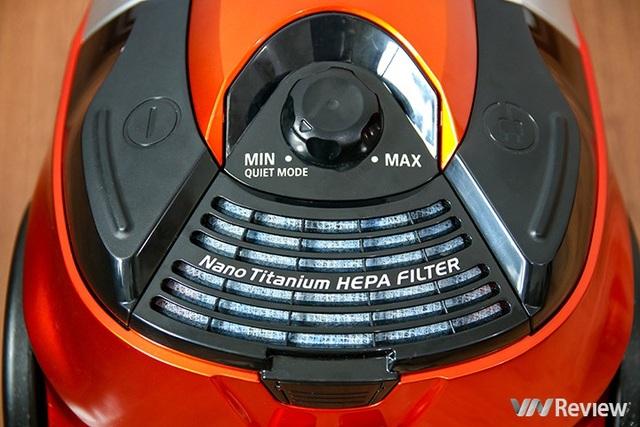 Máy hút bụi Hitachi CV-SE230V: Hút cả bình nước 20 lít, giàu phụ kiện - Ảnh 4.