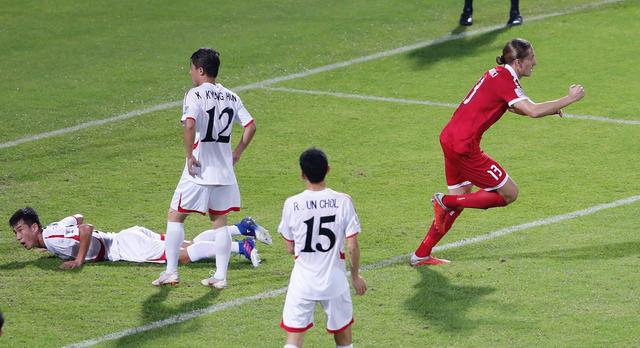 Lebanon thắng Triều Tiên 4-1, Việt Nam vào vòng 1/8 đầy nghẹt thở - Ảnh 9.