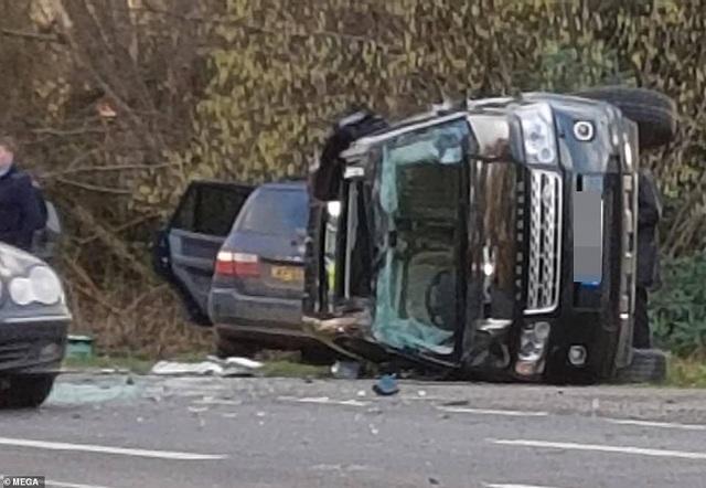 Chồng Nữ hoàng Anh bị sốc nặng sau tai nạn xe hơi - Ảnh 2.