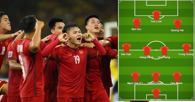 Báo nước ngoài dự đoán đội hình của đội tuyển Việt Nam ở Asian Cup 2019 - Ảnh 1.