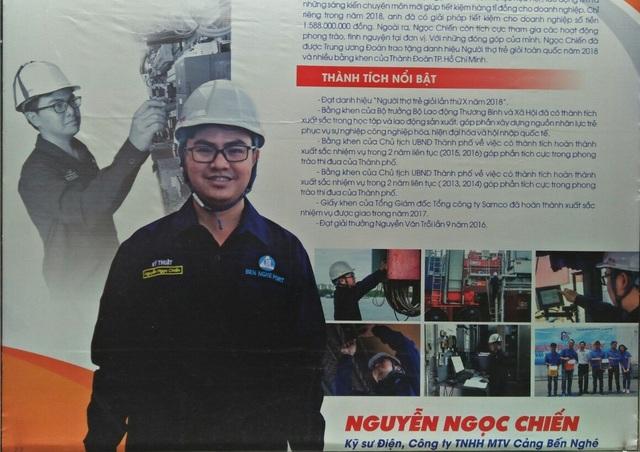 Nguyễn Ngọc Chiến - chàng kỹ sư có những giải pháp tiết kiệm cho doanh nghiệp hàng tỷ đồng