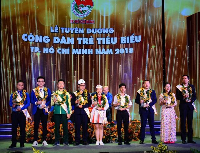 9 gương Công dân trẻ tiêu biểu TPHCM 2018