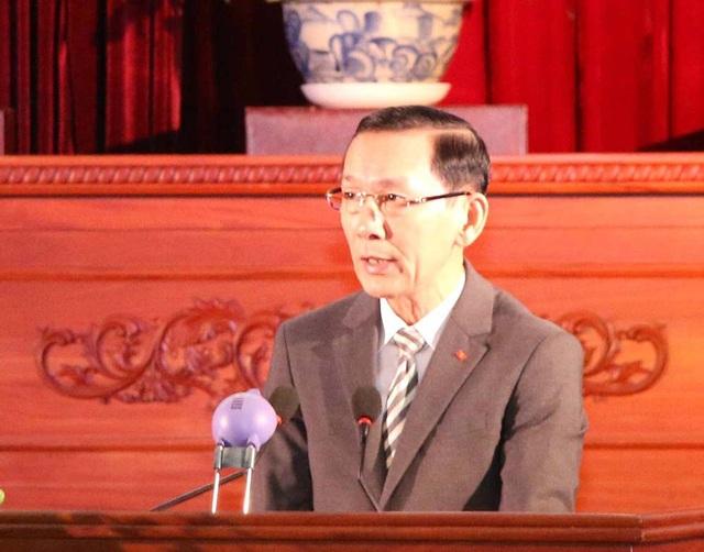 Ông Võ Thành Thống - Chủ tịch UBND TP Cần Thơ phát biểu tại lễ kỷ niệm