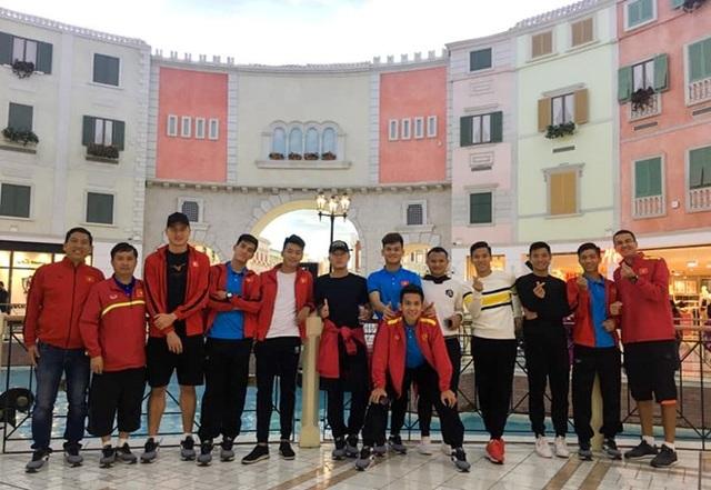 Đội tuyển Việt Nam xả trại 1 ngày, chờ sang UAE dự Asian Cup 2019 - Ảnh 1.