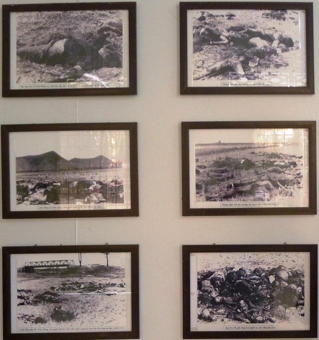 Những hình ảnh giết người man rợ của bọn Pôn Pốt khi chiếm đóng ở Ba Chúc