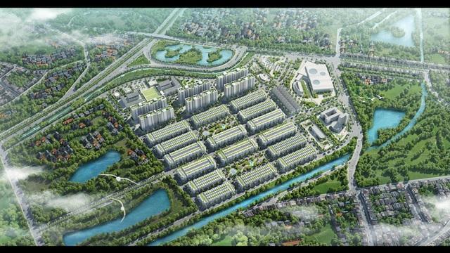Toàn cảnh dự án có quy mô xấp xỉ 27ha của chủ đầu tư Him Lam