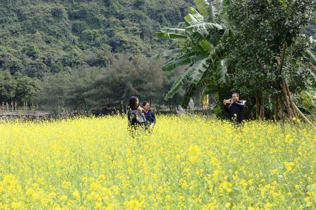 Lưu lại những khoảnh khắc đáng nhớ trong ngày đầu năm ghé đến Thung Nham.