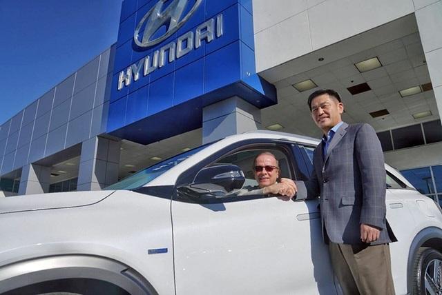 Hyundai Nexo dùng pin nhiên liệu hydro đầu tiên lăn bánh - 1