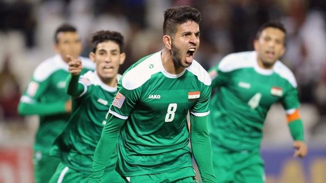 Iraq là một trong những đội bóng bí ẩn nhất, khó lý giải nhất thế giới