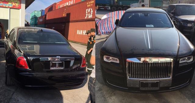 Rolls-Royce Ghost Series II màu đen của thiếu gia Dương Kon