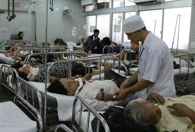 Hầu hết các nạn nhân được chuyển đến Chợ Rẫy đều trong tình trạng nặng
