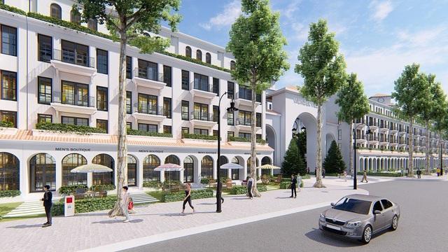 Shophouse sẽ là điểm nhấn đắt giá của dự án Sunshine Wonder Villas