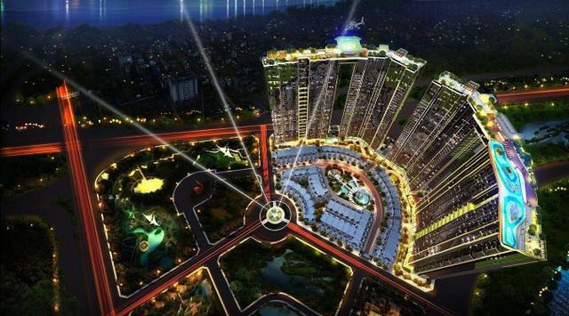 Sunshine City Hà Nội là một trong các dự án liền kề Lotte Mall