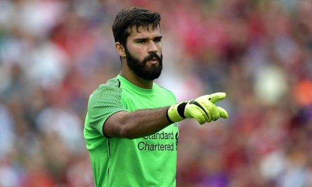 Alisson là chốt chặn tin cậy của Liverpool