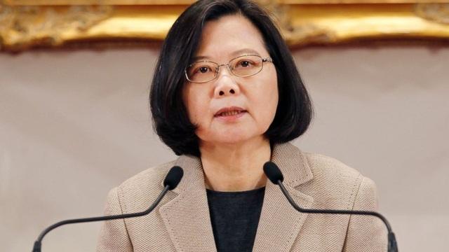 Nhà lãnh đạo Đài Loan Thái Anh Văn (Ảnh: AP)
