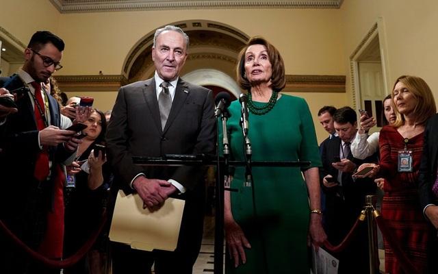 Các nghị sĩ Dân chủ quyết không chấp thuận đề xuất xây tường biên giới. (Ảnh minh họa: Reuters)