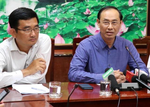 Thứ trưởng Lê Đình Thọ cho rằng đến lúc này chủ sở hữu phương tiện chưa xuất hiện là không chấp nhận được