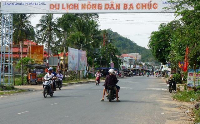 Từ sự quan tâm của Tỉnh ủy, UBND tỉnh An Giang, Ba Chúc ngày càng phát triển
