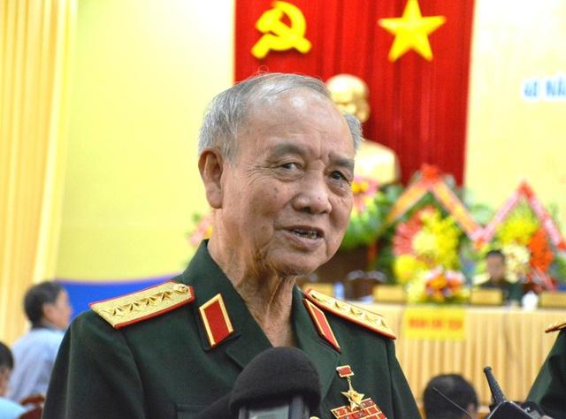 """Đại tướng Phạm Văn Trà – nguyên ủy viên Bộ Chính trị, nguyên Bộ trưởng Bộ Quốc phòng, chia sẻ: """"Quân Pôn Pốt sau khi đánh vào Ba Chúc đã giết hại hơn 3.000 người dân nơi đây."""