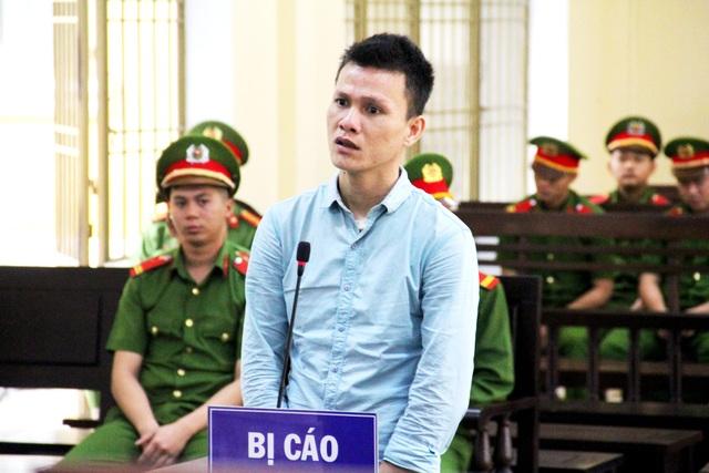 Bị cáo Quyết tại phiên tòa