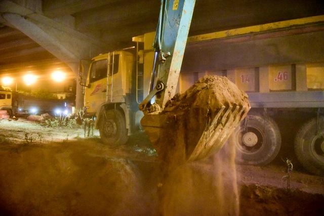Thời gian mở rộng đường vào ban đêm để giảm ảnh hưởng đến giao thông.