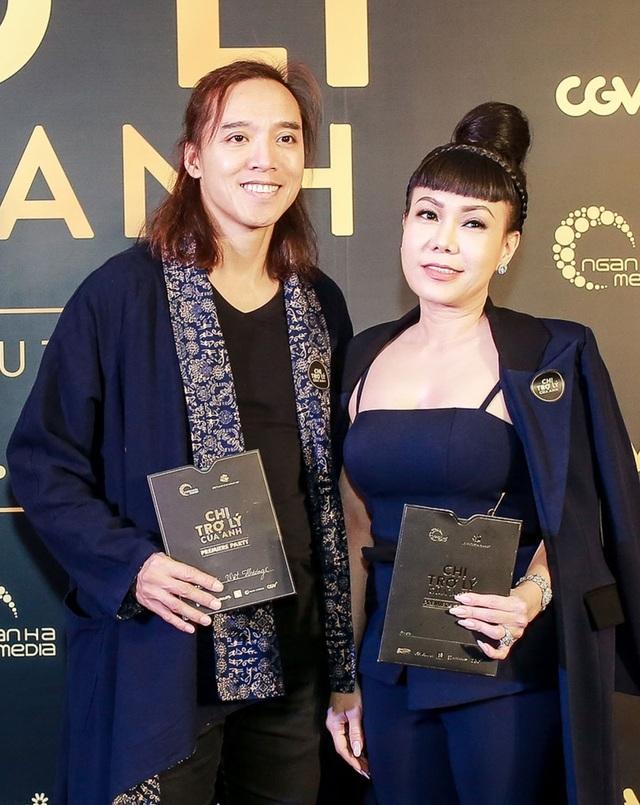 Vợ chồng diễn viên Việt Hương - Hoài Tâm