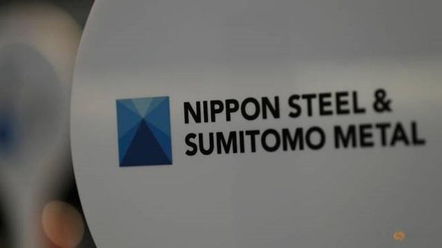 Logo của Nippon Steel & Sumitomo Metal. (Nguồn: Reuters)