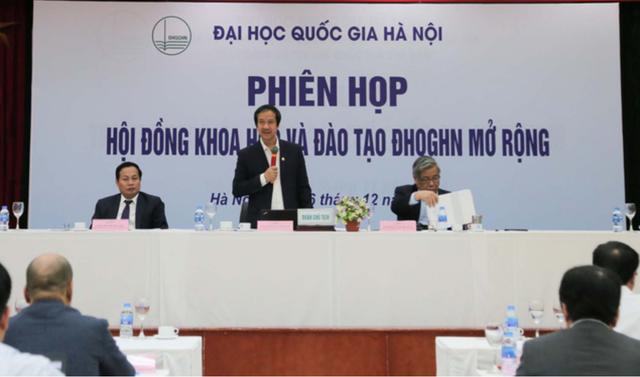 ĐH Quốc gia Hà Nội tập trung đổi mới đào tạo cử nhân tài năng, chất lượng cao - Ảnh 1.