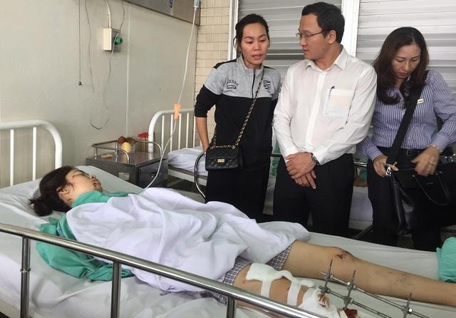Nhiều bệnh nhân bị dập nát chân, tay, tổn thương mạch máu nguy cơ đoạn chi