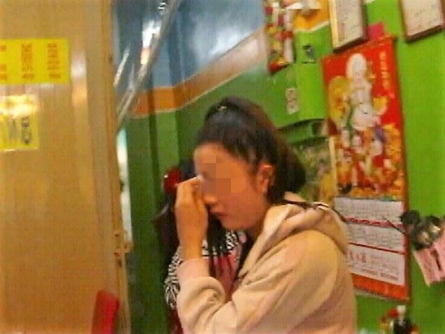 Cô gái tỏ ra hoảng sợ và khai báo không hề có ý định tới Đài Loan làm việc bất hợp pháp
