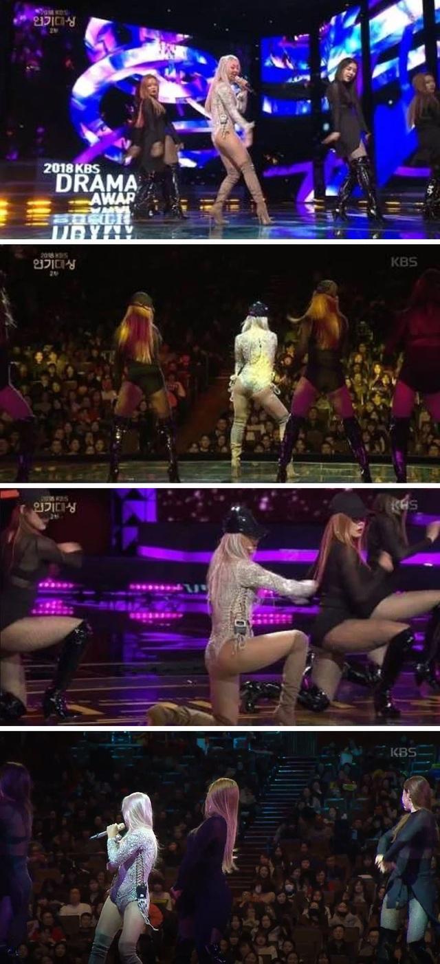 Mới đây, ngôi sao ca nhạc K-pop Hyolyn (28 tuổi) đã trở thành tâm điểm tranh cãi khi xuất hiện tại lễ trao giải KBS Drama Awards.