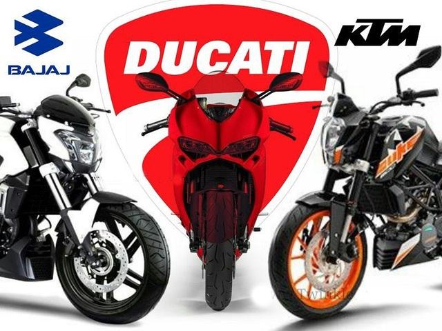 KTM - đứng đằng sau là tập đoàn Bajaj rất muốn có thêm Ducati trong danh mục của mình.
