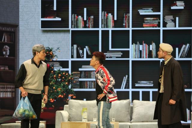 """Tự Long đóng """"bố thuê"""" của Xuân Bắc khiến khán giả cười chảy nước mắt - 5"""