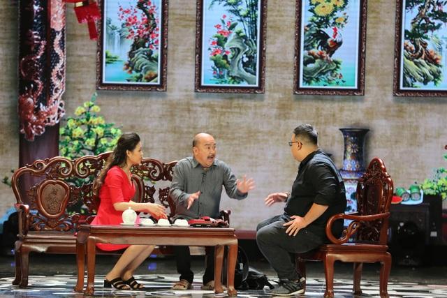 Nghệ sĩ Hoàng Sơn cùng các diễn viên mang đến tiếng cười đáng suy ngẫm trong Phi vụ thế kỷ.