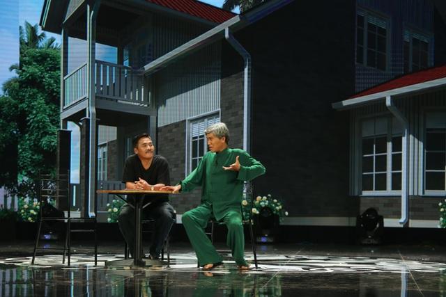 """Tự Long đóng """"bố thuê"""" của Xuân Bắc khiến khán giả cười chảy nước mắt - 3"""