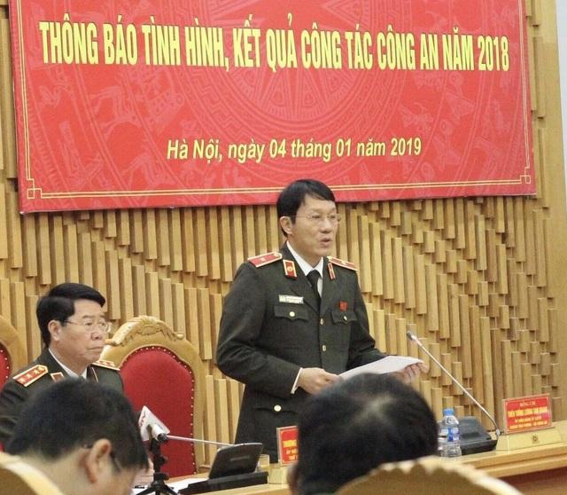 Thiếu tướng Lương Tam Quang, Chánh Văn phòng Bộ Công an.