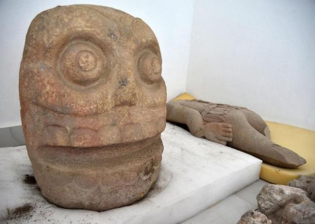 Tìm thấy đền thờ vị thần bí ẩn của người Mexico cổ đại - Ảnh 1.