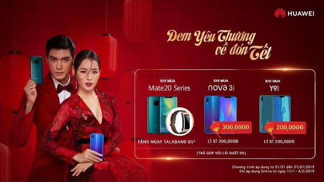 """Huawei tưng bừng """"lì xì"""" năm mới cho người dùng bằng loạt ưu đãi hấp dẫn - 4"""