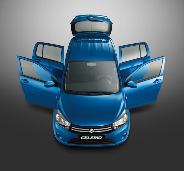 Suzuki Celerio, mẫu xe tiết kiệm cho sử dụng trong đô thị và kinh doanh - 8