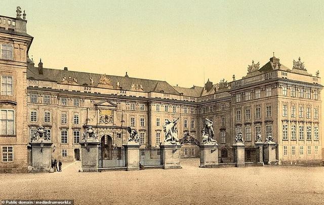 Lâu đài Praha, nằm ở Praha, Cộng hòa Séc.