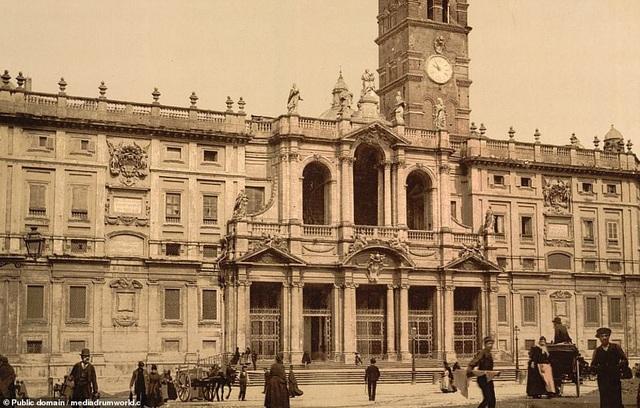 Vương cung Thánh đường Santa Maria Maggiore ở Rome, Ý.