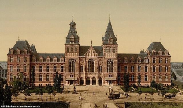 Bảo tàng Rijksmuseum, Amsterdam, Hà Lan.