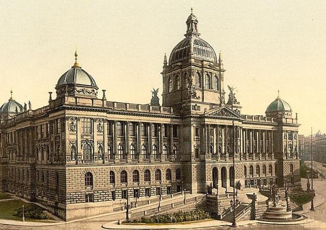 Bảo tàng Quốc gia ở Praha, Cộng hòa Séc.