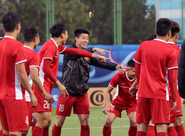 """Đội tuyển Việt Nam hứng khởi """"luyện công"""" chờ đấu Iran, Iraq - 11"""