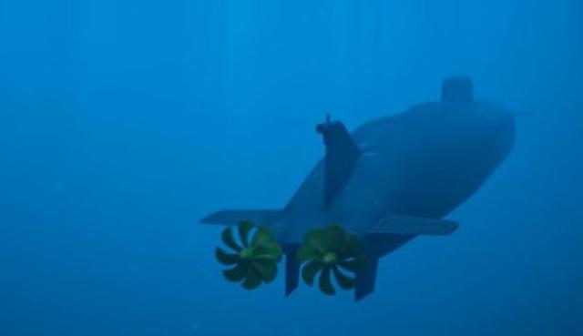 Tàu ngầm không người lái của Nga có thể chạy không cần nghỉ dưới nước.