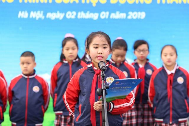 """Chung tay vì """"Ly sữa học đường"""" cho trẻ em Thủ đô ngày hôm nay - Ảnh 2."""