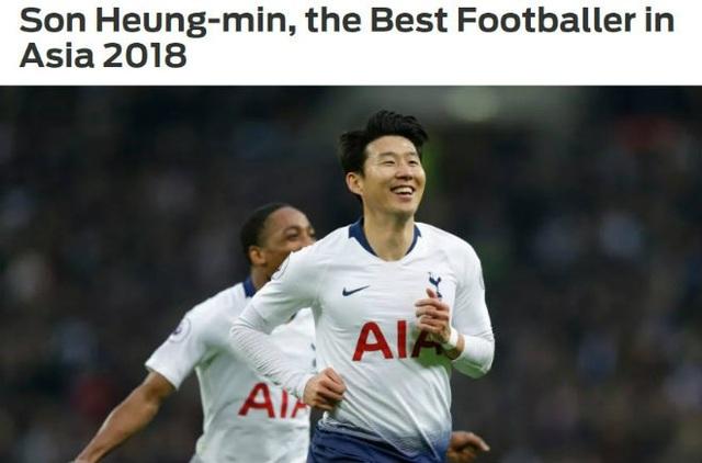 Son Heung Min vẫn đang là ngôi sao hay nhất của bóng đá châu Á hiện tại