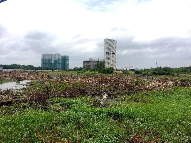 Nguồn thu ngân sách từ đất và từ tiền sử dụng đất dự án bất động sản đang giảm dần trong những năm qua. Ảnh: Đại Việt