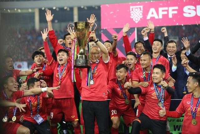 Sau khi lên ngôi vô địch AFF Cup, các cầu thủ Việt Nam chuẩn bị bước vào sân đấu cấp châu lục hứa hẹn nhiều thử thách hơn